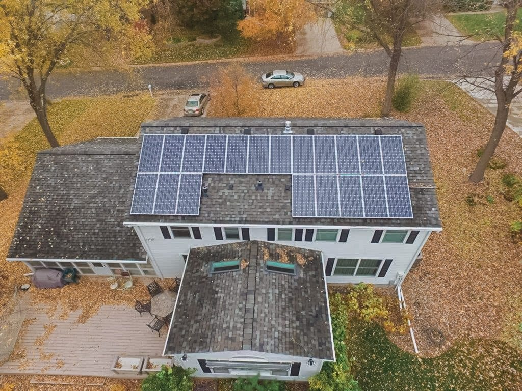 Dc Solar Electric Garage Lighting Hard Wired And Fully Integrated