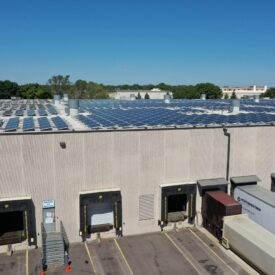 Brin Glass - Solar for Manufacturing and Distribution Centers in MInnesota